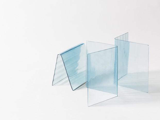 ventura centrale instalaion de salviati con vidrio en la milano design week 2017 diariodesign