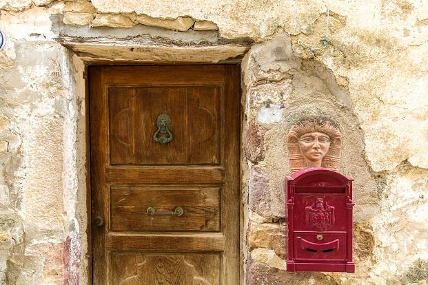 detalle del castillo de Roccascalegna en italia para concursos de arquitectura de young architects diariodesign