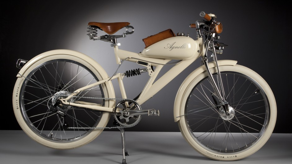 bicicletas electricas retro de Luca Agnelli en milan