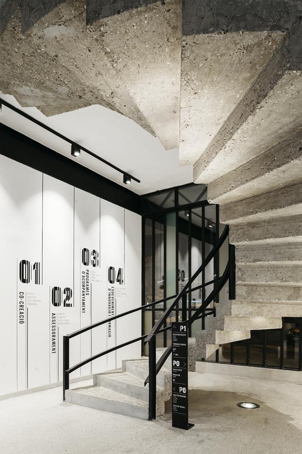 interior del Canodromo de barcelona El nuevo Parque de Investigación Creativa en diariodesign