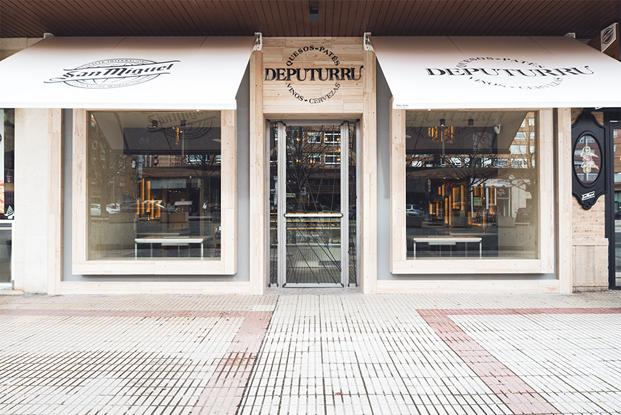 fachada local gourmet deputurru en burgos