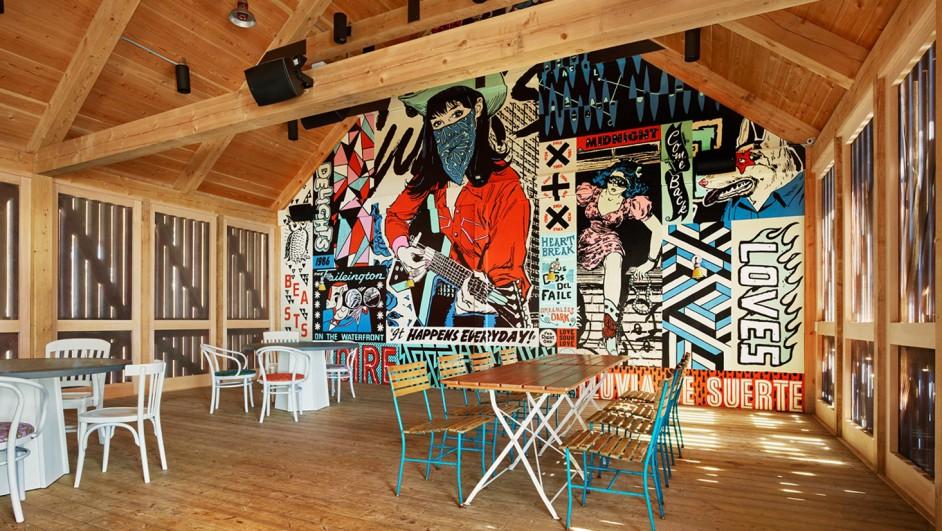 Drake Devonshire estudio Inn tongtong posada en Canada diariodesign