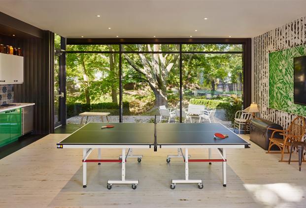 ping pong en posada en canada