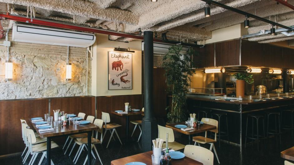 Elephant Crocodile Monkey restaurante del hotel Bonay diariodesign