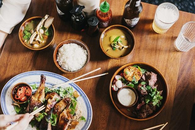 cocina asiatico contemporanea en el restaurante del hotel bonay  Elephant Crocodile Monkey diariodesign