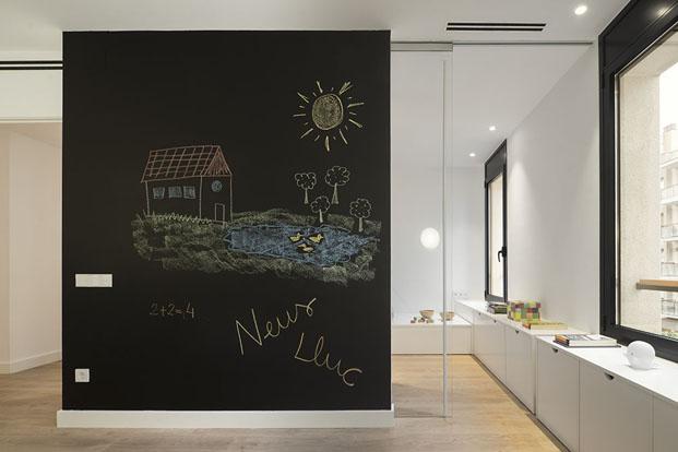 piso minimalista Family Hub Susana Cots Barcelona diariodesign
