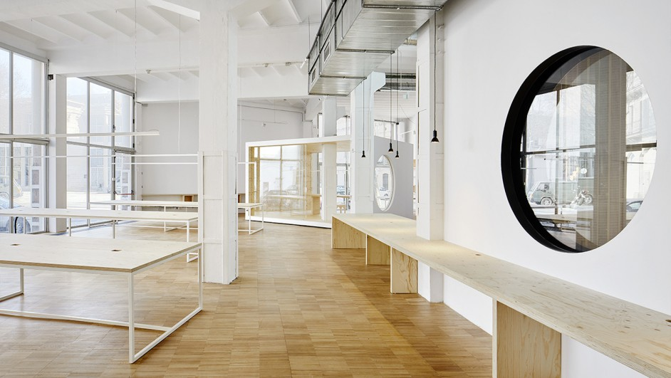 oficinas en barcelona de Goroka Park por los arquitectos Isern Serra diariodesign
