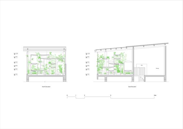 planos del pabellon de los origenes