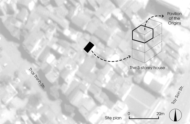 ubicacion del Pabellon de los origenes hanoi diariodesign