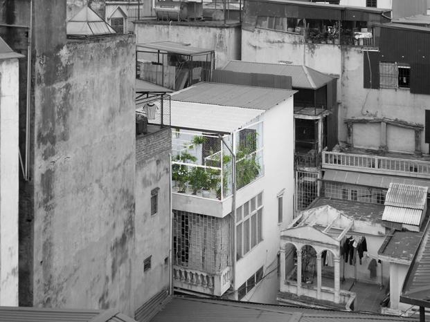 exterior del pabellon de los origenes en Hanoi diariodesign
