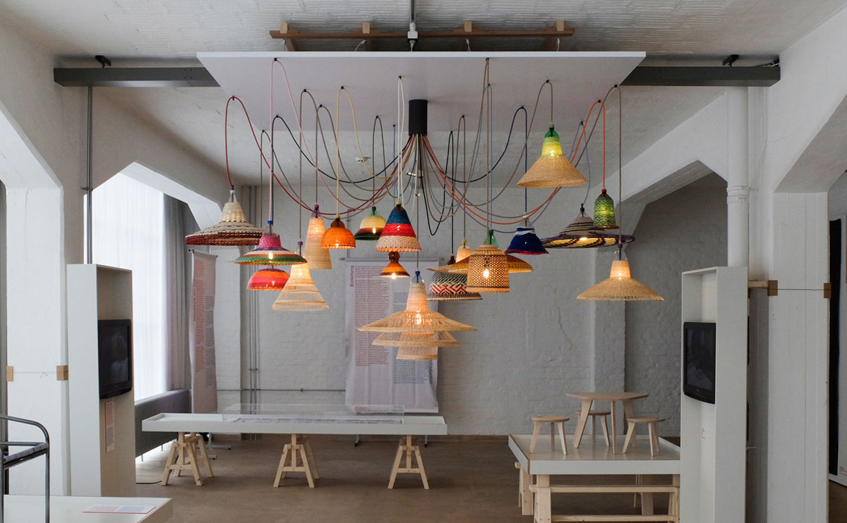 Pet Lamp de alvaro catalan de ocon en la escuela Bauhaus Craft becomes modern diariodesign
