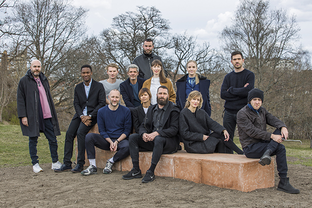 SUPERBENCHES_Group Portrait withh Curators