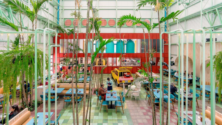 restaurante Saul Bistro Madero Taller KEN en Guatemala