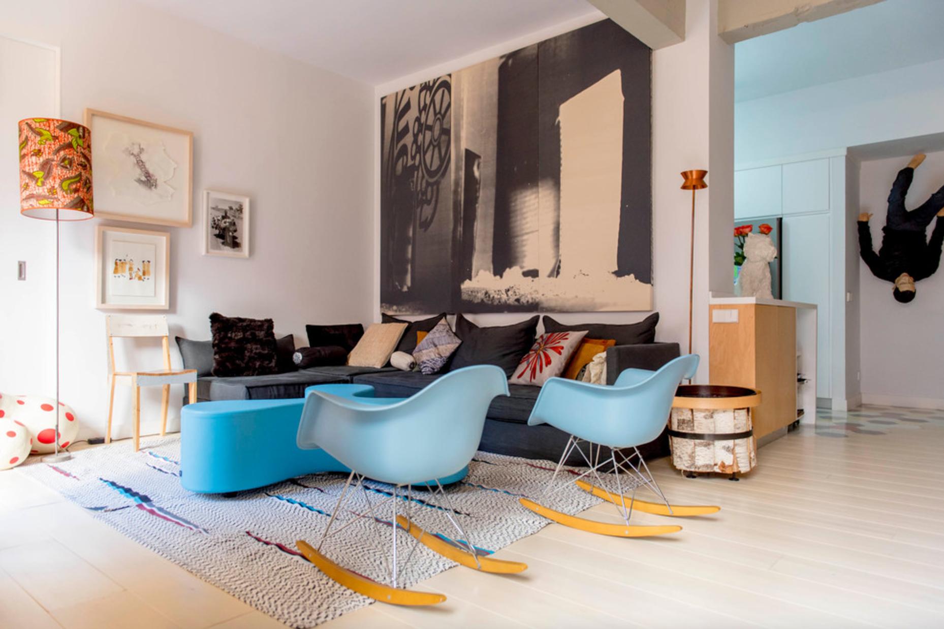 100 arte y dise o en un piso de madrid for Diseno de interiores que hace