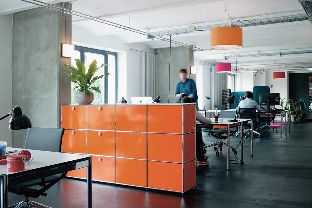 concurso de USM Haller de mobiliario de oficina