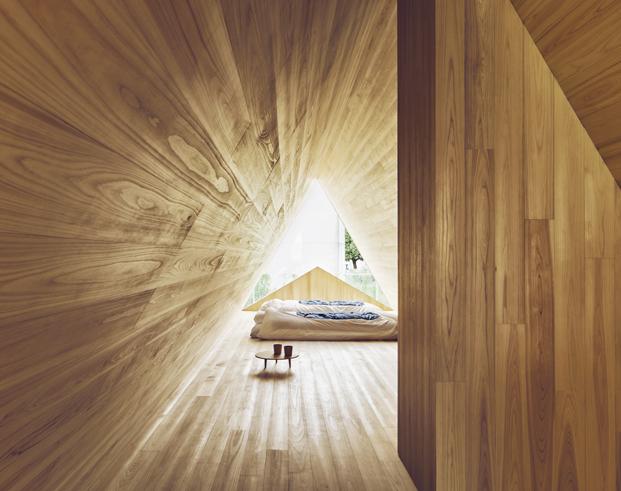 Yoshino Cedar House como es una casa moderna diariodesign