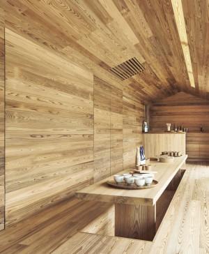 Yoshino Cedar House casas airbnb en diariodesign