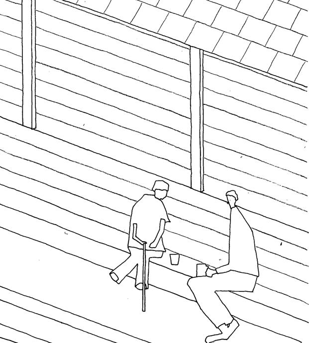 plano 1 Yoshino Cedar House casas airbnb en diariodesign