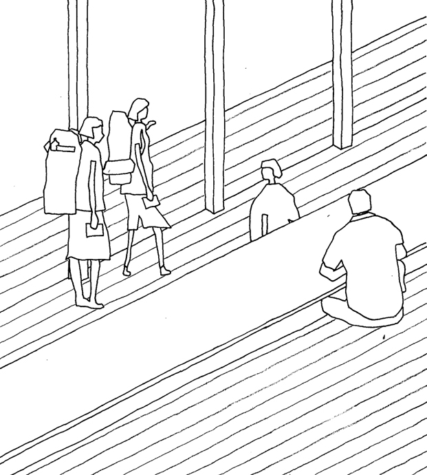 plano 2 Yoshino Cedar House casas airbnb en diariodesign