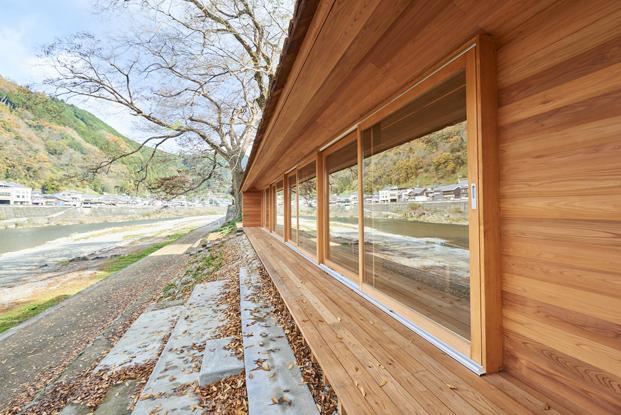 detalle de Yoshino Cedar House casas airbnb en diariodesign