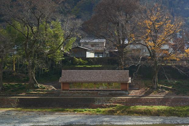 exterior Yoshino Cedar House casas airbnb en diariodesign