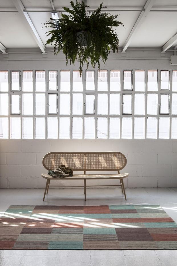 alfombra blend de nanimarquina presentada en el salon del mueble de milan milano diariodesign