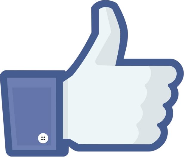 logo de facebook en exposicion design museum de londres en el diseño de california