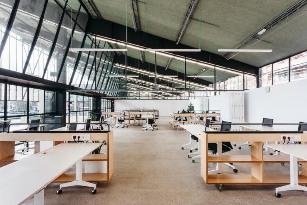 salas del canodromo El nuevo Parque de Investigación Creativa de Barcelonadear design diariodesign