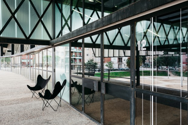 exterior del canodromo en barcelona para emprendedores