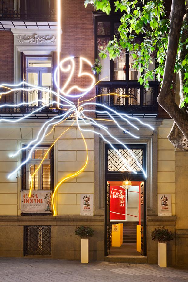 iluminacion en fachada casadecor 2017 diariodesign