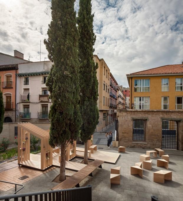 intervencion de arquitect para el festival de diseño y arquitectura en logroño