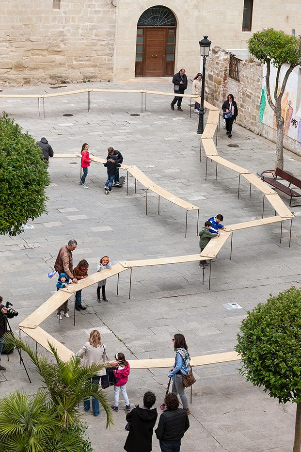 ciempies de picado de blas en el festival de arquitectura y diseño concentrico 03 en logroño