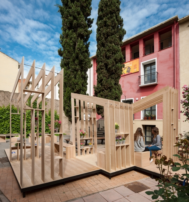 arte efimero en el festival de arquitectura y diseño concentrico 03 en logroño