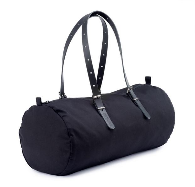 bolsa de viaje de equipaje bcn duffle bag en negro diariodesign