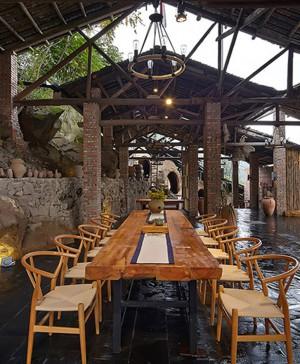 huxi pottery kiln tian qi restaurante de ladrillo china diariodesign