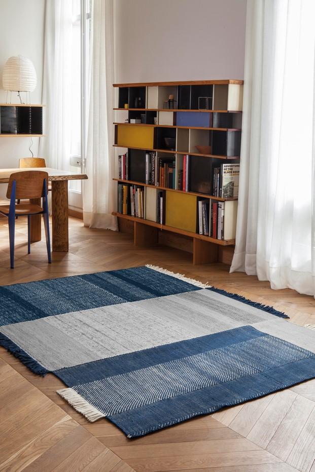 alfombra tres de nanimarquina presentada en el salone del mobile milano diariodesign