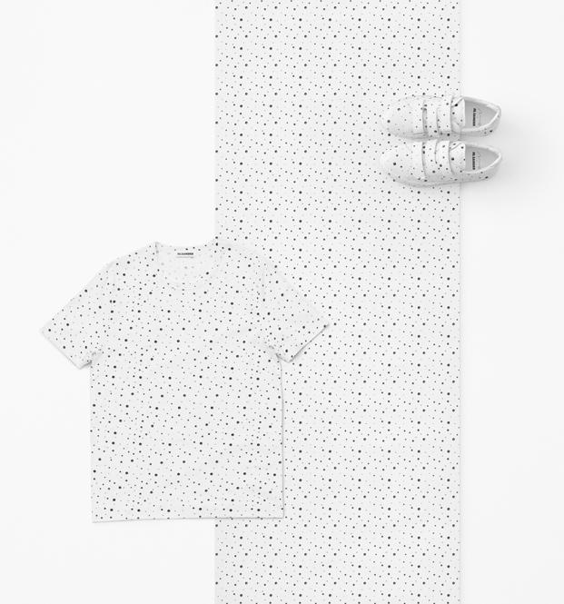 estampados de nendo para jil sander en objectextile en milan