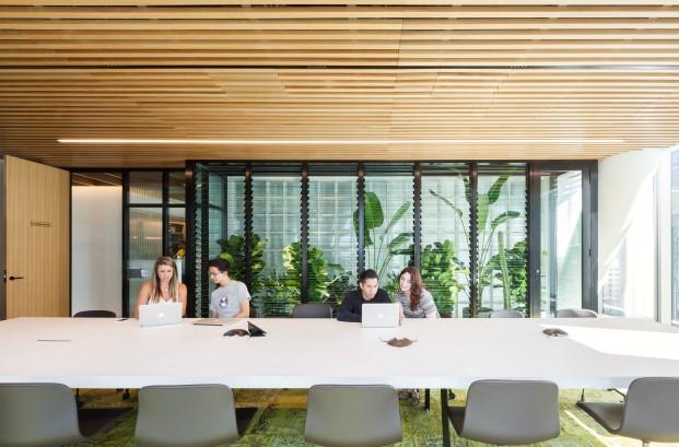 lounge de nueva sede de dropbox en sidney diariodesign