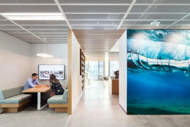 sala de reuniones de las oficinas de dropboxen sidney diariodesign