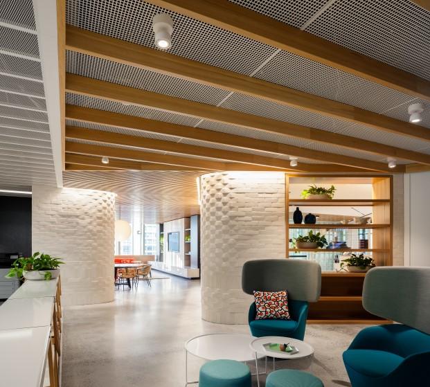 oficinas de dropbox interiores de estudio gensler en sidney diariodesign