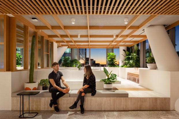 espacios de las nuevas oficinas de dropbox en sidney diariodesign