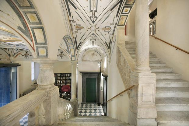 escalera de palazzo grillo patrimonio de la unesco en diariodesign