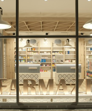 sube interiorismo farmacia en zarautz diariodesign