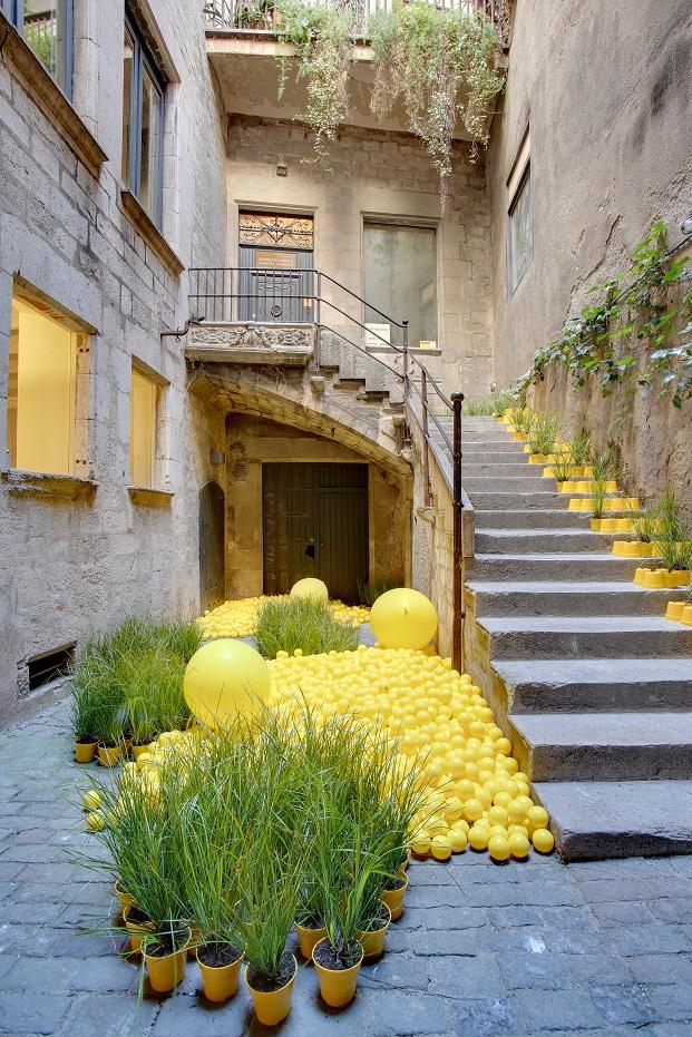 Flores arquitectura y dise o ef mero en girona - Arquitectura girona ...