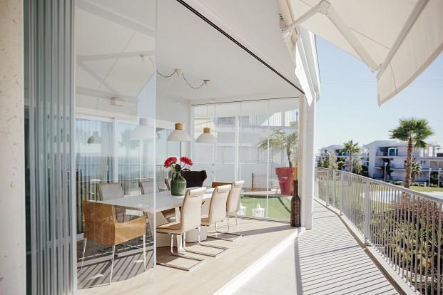 10 razones para ampliar con cortinas de cristal - Como cerrar terraza ...