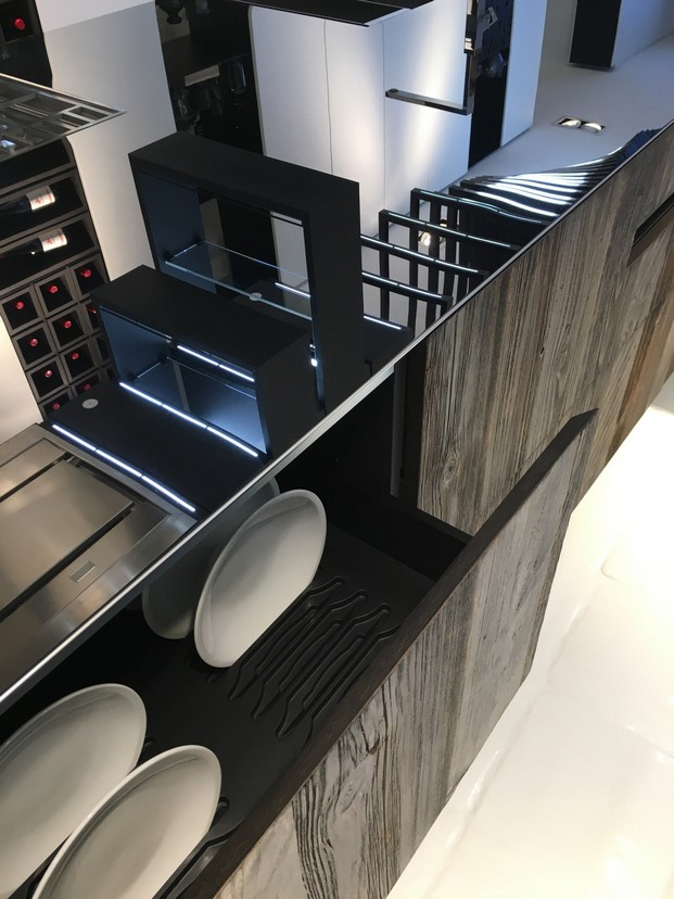 cocina modular de Alessandro Isola para the cut evolution