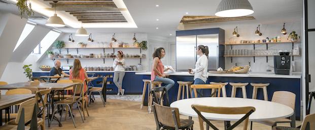 cocinas oficinas airbnb parís