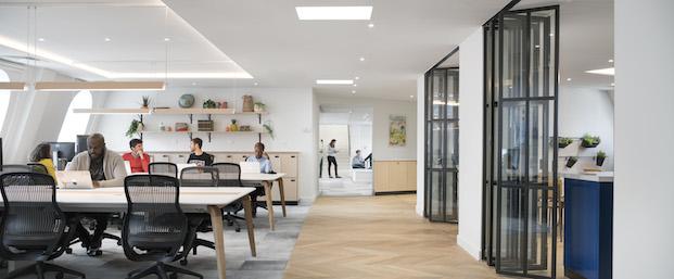 lounge oficinas airbnb parís