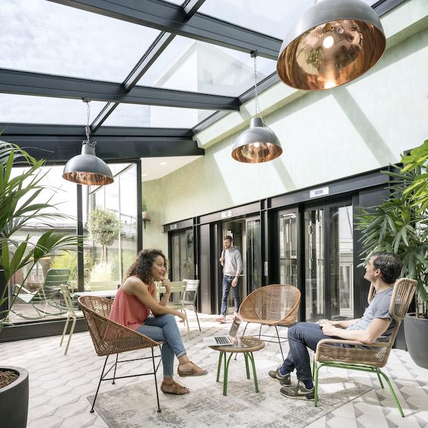 solarium oficinas airbnb parís