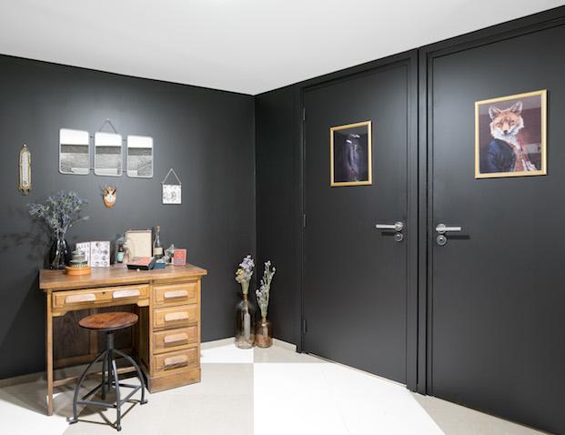 mobiliario de marché aux puces en airbnb parís